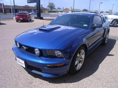 2007 ford mustang coupe gt premium for sale in lubbock texas classified. Black Bedroom Furniture Sets. Home Design Ideas