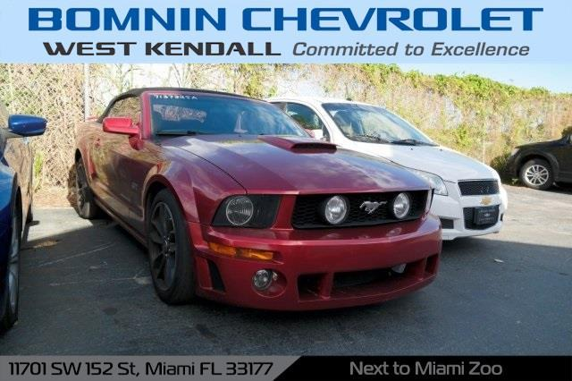 2007 ford mustang gt deluxe gt deluxe 2dr convertible for sale in miami florida classified. Black Bedroom Furniture Sets. Home Design Ideas