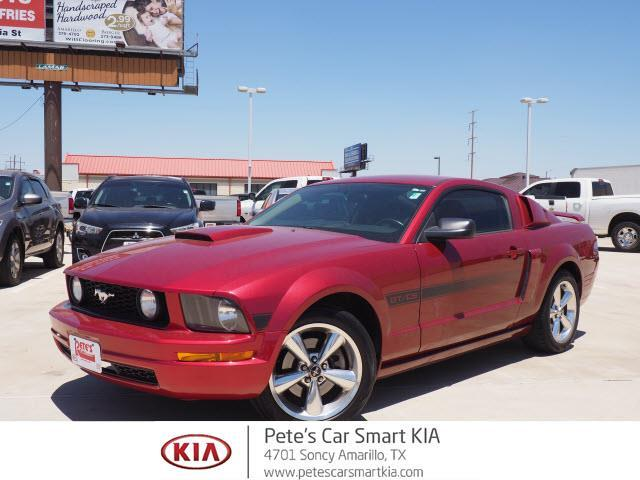 2007 ford mustang gt deluxe gt deluxe 2dr fastback for sale in amarillo texas classified. Black Bedroom Furniture Sets. Home Design Ideas