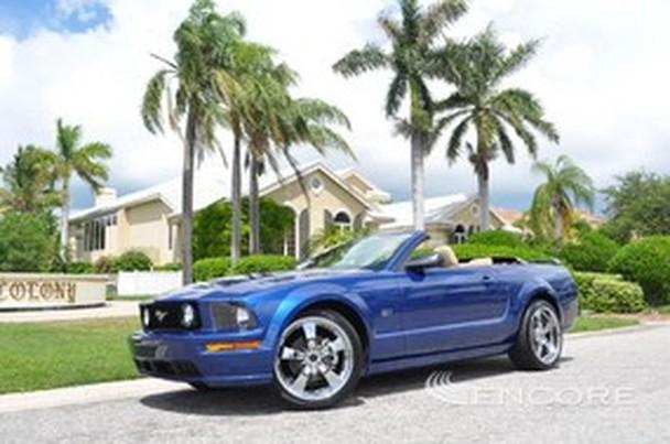 2007 ford mustang gt premium convertible 7k miles auto shaker sound for sale in sarasota. Black Bedroom Furniture Sets. Home Design Ideas