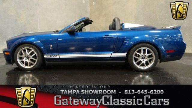2007 Ford Mustang Shelby Gt500 Convertible 373tpa For