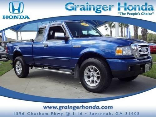 2007 ford ranger extended cab pickup 4wd 4dr supercab 126 xlt for sale in savannah georgia. Black Bedroom Furniture Sets. Home Design Ideas