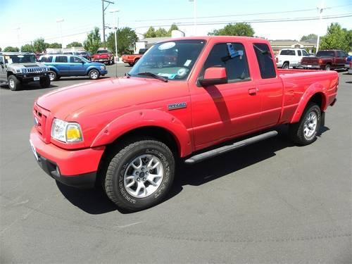 2007 ford ranger pickup truck 4wd 4dr supercab 126 sport for sale in boise idaho classified. Black Bedroom Furniture Sets. Home Design Ideas