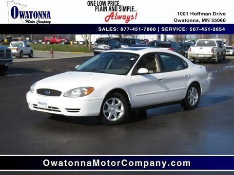 2007 ford taurus 4 door sedan for sale in havana minnesota classified. Black Bedroom Furniture Sets. Home Design Ideas
