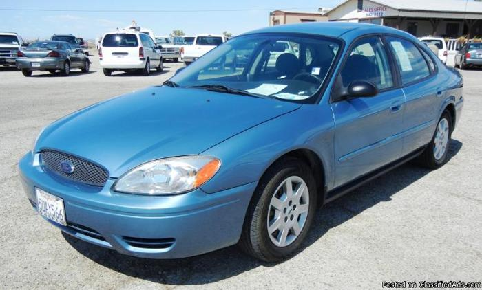 2007 ford taurus se for sale in hi vista california classified. Black Bedroom Furniture Sets. Home Design Ideas