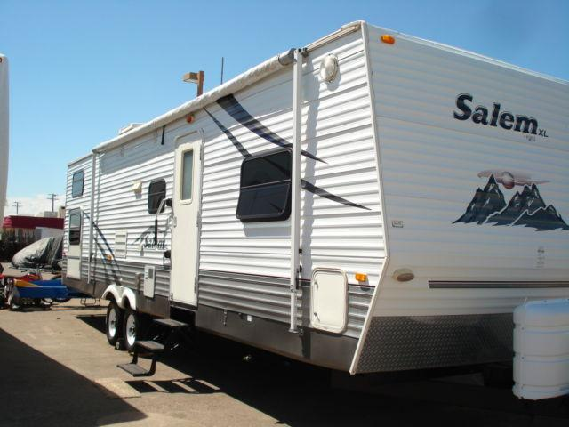2007 Forest River Salem XL Travel Trailer-1 Slide-35