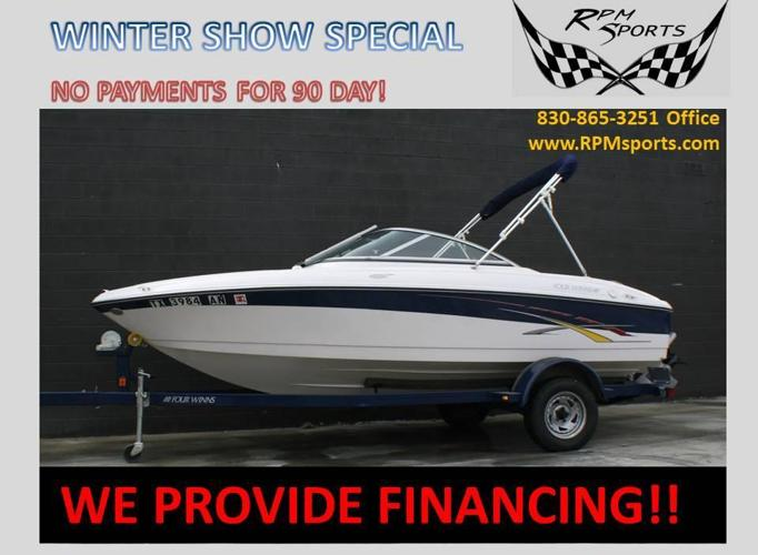 2007 FOUR WINNS HORIZON 180
