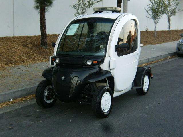 2007 Gem Electric Cart Street Legal With Doors Utility Cart Golf