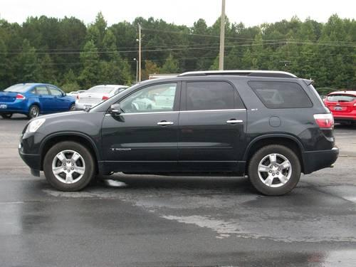 2007 Gmc Acadia 2wd Black Tan Loaded For Sale In