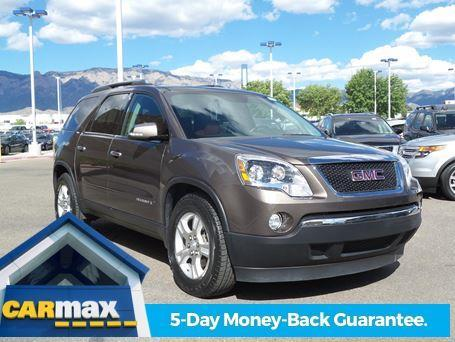 2007 gmc acadia slt 2 awd slt 2 4dr suv for sale in albuquerque new mexico classified. Black Bedroom Furniture Sets. Home Design Ideas