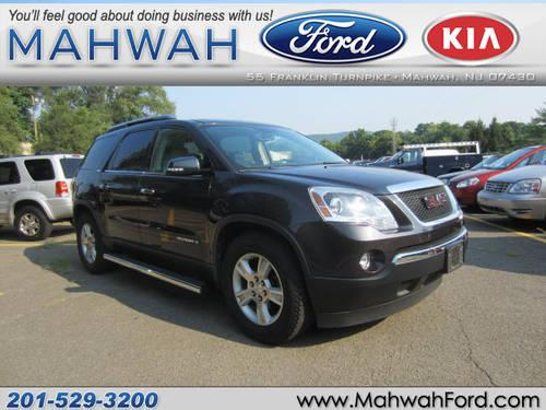 2007 gmc acadia suv awd slt 2 for sale in mahwah new. Black Bedroom Furniture Sets. Home Design Ideas