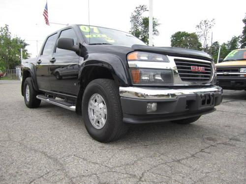 2007 gmc canyon sle crew cab 4x4 one owner 106k miles. Black Bedroom Furniture Sets. Home Design Ideas
