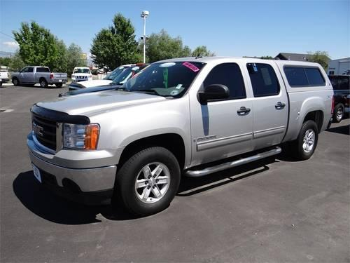 2007 gmc sierra 1500 pickup truck 4wd crew cab 143 5 sl for sale in boise idaho classified. Black Bedroom Furniture Sets. Home Design Ideas