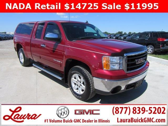 2007 GMC Sierra 1500 SLE1 SLE1 4dr Extended Cab 4WD 5.8