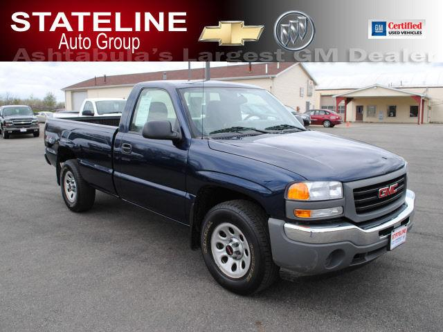 2007 gmc sierra 1500 work truck for sale in andover ohio classified. Black Bedroom Furniture Sets. Home Design Ideas