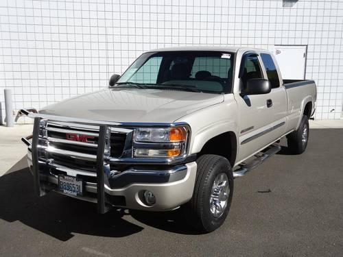 2007 gmc sierra 2500hd 4 door extended cab truck 2500 for. Black Bedroom Furniture Sets. Home Design Ideas