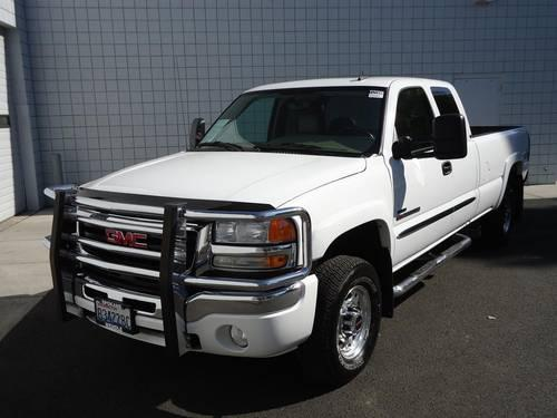 2007 gmc sierra 2500hd 4 door extended cab truck slt for. Black Bedroom Furniture Sets. Home Design Ideas
