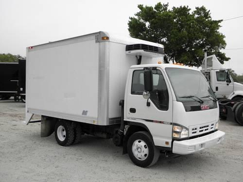 2007 Gmc W4500 12 Reefer Cabover Box Truck For Sale In