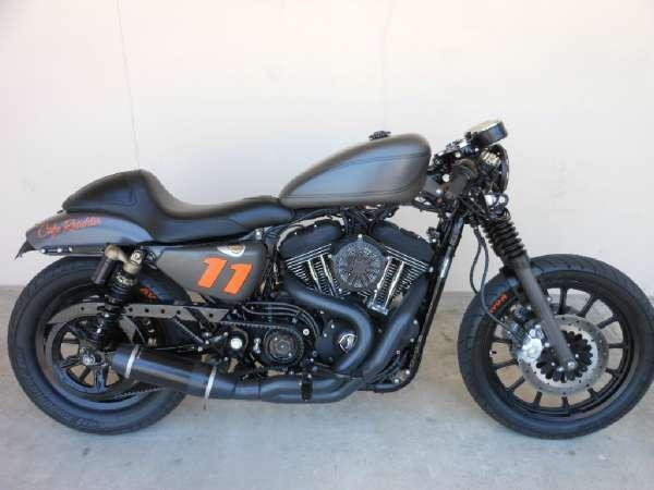 2007 Harley Davidson CAFE ROADSTER 1200 SPORTSTER