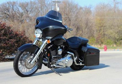 2007 harley davidson flhx street glide custom bagger for sale in houston texas classified. Black Bedroom Furniture Sets. Home Design Ideas