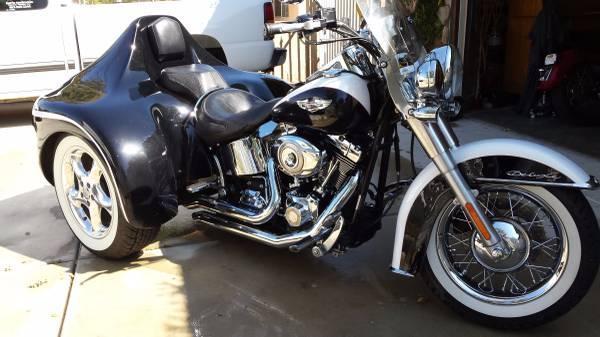 2007 Harley Davidson Flstn Softail Deluxe In Lancaster Ca For Sale