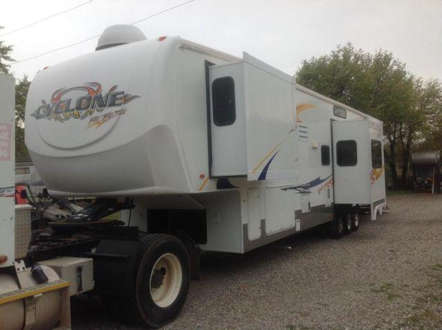 2007 Heartland Cyclone Toy Hauler Rv Fifth Wheel For Sale In Luther Oklahoma Classified