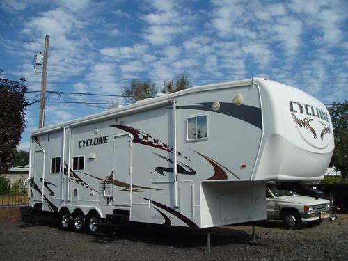 2008 Cyclone Toy Hauler Floor Plans