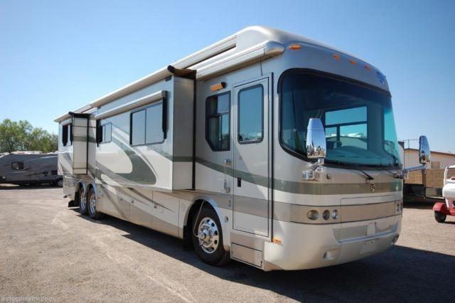 2007 Holiday Rambler Navigator 40pbq Quad Slide 515hp Detroit 60 For Sale In Mesa Arizona