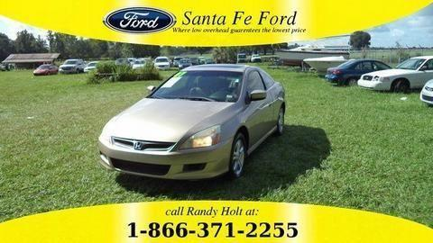 2007 HONDA ACCORD 2 DOOR COUPE