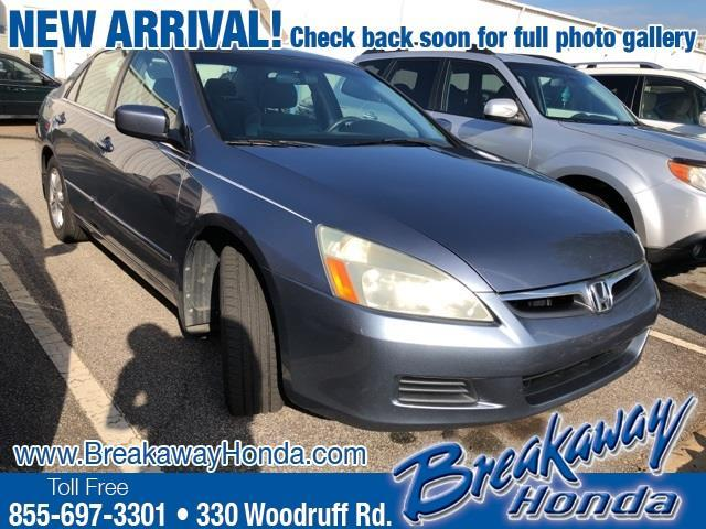 2007 Honda Accord EX EX 4dr Sedan (2.4L I4 5A)