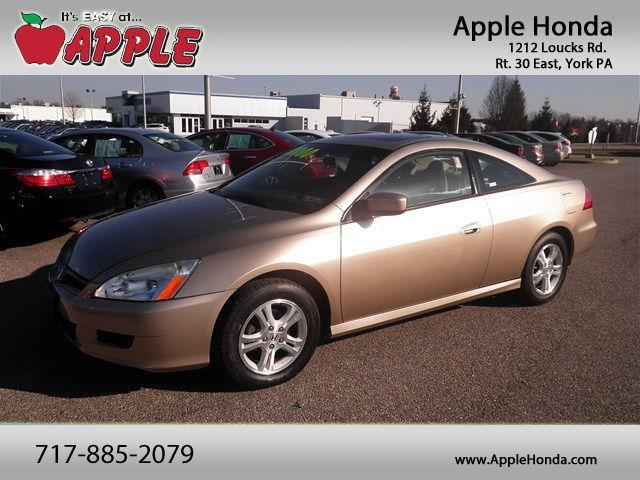 2007 Honda Accord EX-L EX-L 2dr Coupe (2.4L I4 5A)
