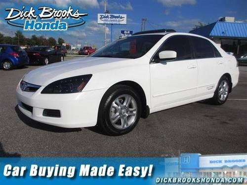 2007 honda accord sdn 4dr car ex l for sale in greer south carolina classified. Black Bedroom Furniture Sets. Home Design Ideas