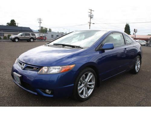 2007 honda civic 2 dr coupe si for sale in longview washington classified. Black Bedroom Furniture Sets. Home Design Ideas