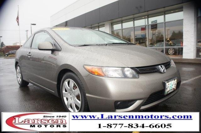 2007 honda civic 2d coupe lx for sale in mcminnville for Larsen motors mcminnville oregon