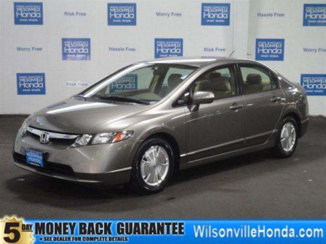 2007 honda civic hybrid w new ima battery for sale in charbonneau oregon classified. Black Bedroom Furniture Sets. Home Design Ideas