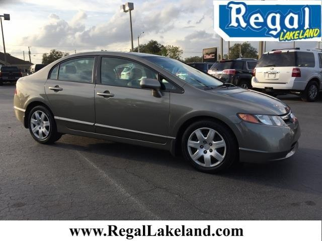 2007 Honda Civic LX LX 4dr Sedan (1.8L I4 5A)