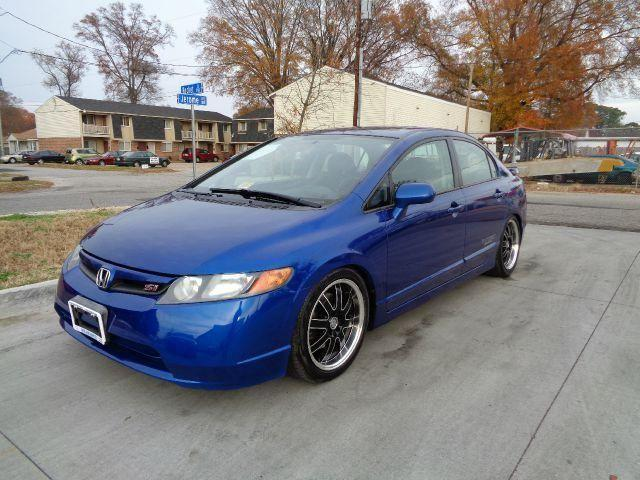 2007 honda civic si sedan wheels clean financing available for sale in norfolk virginia. Black Bedroom Furniture Sets. Home Design Ideas
