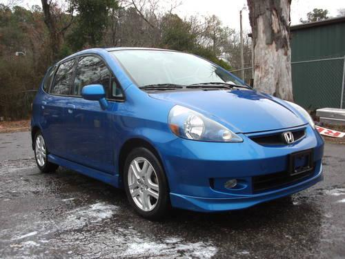 2007 honda fit sport great fuel mileage low miles one