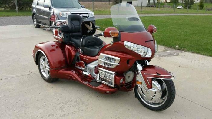 2007 honda goldwing trike for sale in cleveland ohio classified. Black Bedroom Furniture Sets. Home Design Ideas