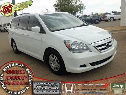 2007 Honda Odyssey 4D Passenger Van EX-L