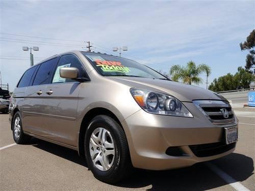 2007 honda odyssey mini van passenger ex l for sale in for Honda of lemon grove