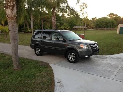 2007 honda pilot ex l charcoal grey 111k mi for sale in palm city florida classified. Black Bedroom Furniture Sets. Home Design Ideas