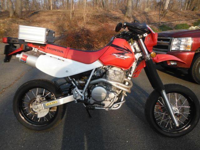 Honda Xr650L For Sale >> 2007 Honda XR650L Supermoto Supermotard Warp9 wheels Big Gun Exhaust for Sale in Southbury ...
