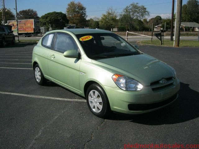 2007 hyundai accent gs for sale in kernersville north carolina classified. Black Bedroom Furniture Sets. Home Design Ideas