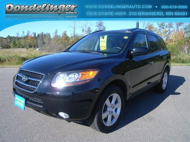 2007 hyundai santa fe limited for sale in brainerd. Black Bedroom Furniture Sets. Home Design Ideas