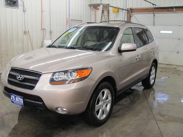 2007 hyundai santa fe limited for sale in manchester iowa. Black Bedroom Furniture Sets. Home Design Ideas