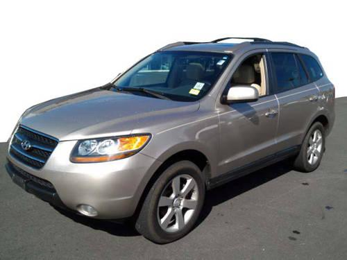 2007 hyundai santa fe limited w xm for sale in middlebury. Black Bedroom Furniture Sets. Home Design Ideas
