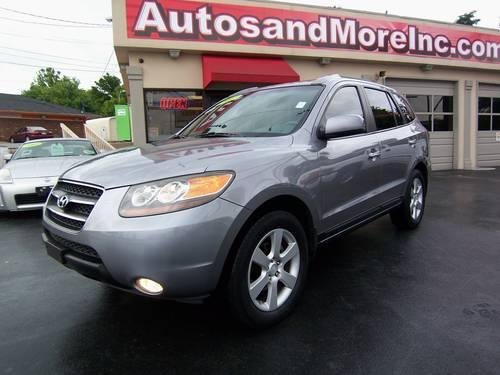 2007 hyundai sante fe limited suv one owner loaded for sale in knoxville tennessee. Black Bedroom Furniture Sets. Home Design Ideas
