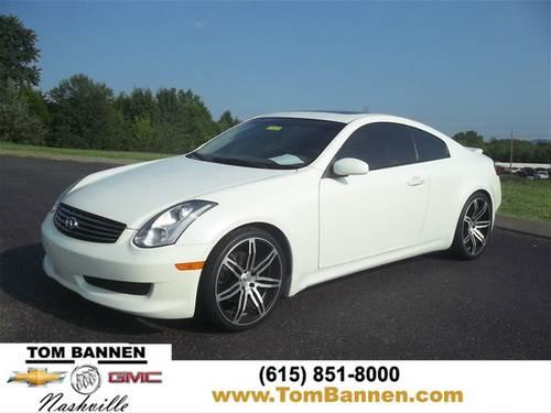 2007 infiniti g35 coupe coupe w sunroof for sale in am. Black Bedroom Furniture Sets. Home Design Ideas