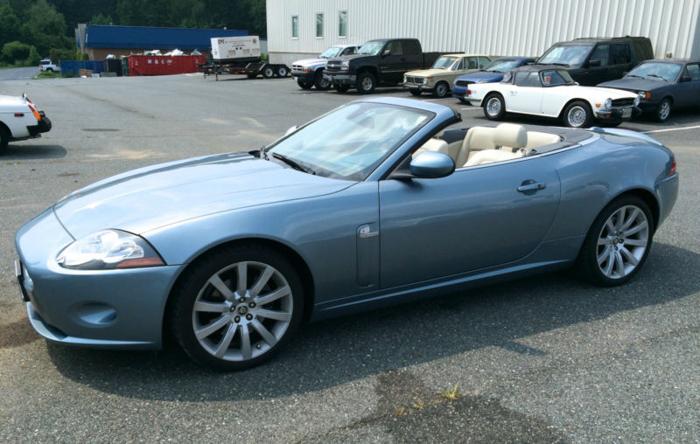 2007 jaguar xk for sale in newburg maryland classified. Black Bedroom Furniture Sets. Home Design Ideas